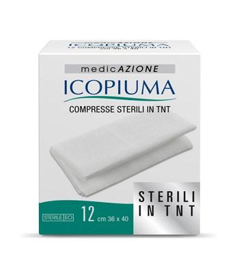 Icopiuma Compresse Sterili Di Garza In TNT 36x40cm 12Pezzi