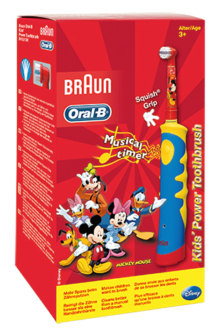 Oral B Kids Vitality Stages Mickey Electric Toothbrush