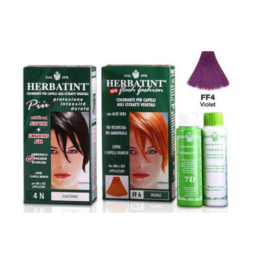 Herbatint Colorazione Naturale Nuance Ff4 Flash Violetto 135ml