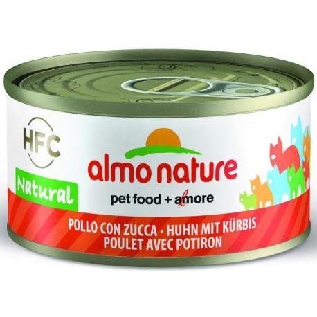 Image of Almo Nature Cat HFC Natural Pollo Con Zucca 70g 1 Pezzo 903959005