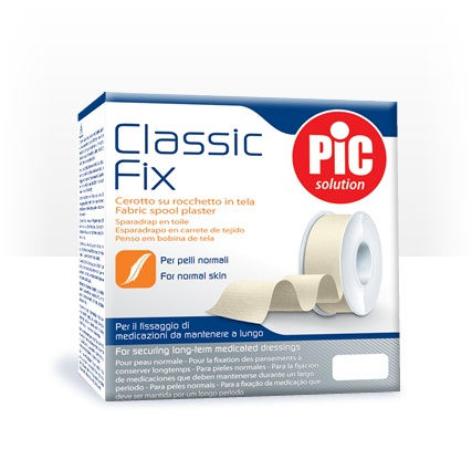 Pic Classic Fix Cerotto per Fissaggio in Tela su Rocchetto 5cm x 9,14 m 1 Rocchetto