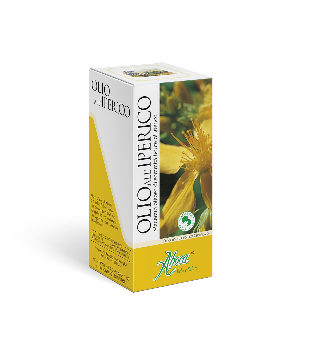 Image of Aboca Olio All'Iperico Cosmetico Biologico 100ml 904058435