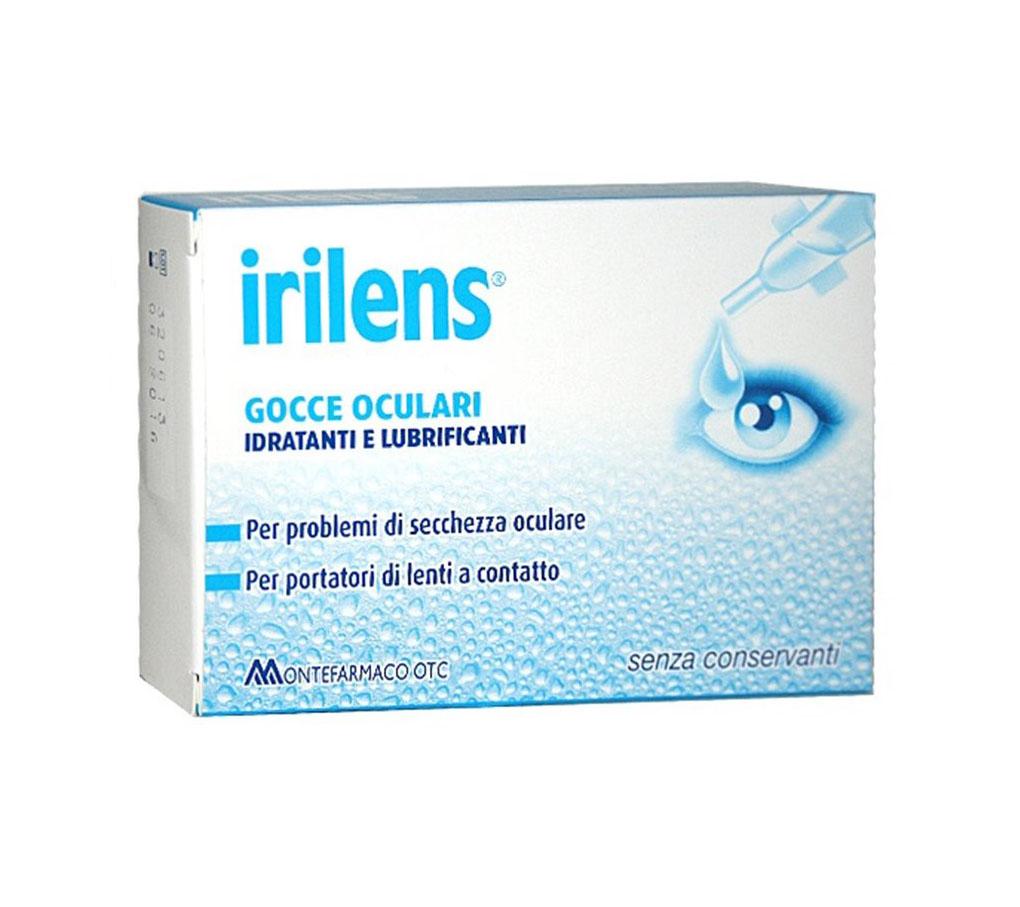 Montefarmaco Otc Irilens 0,4% Gocce Oculari Idratanti E Lubrificanti 15 Monodosi Da 0,5ml