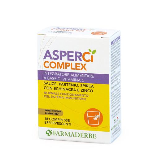 Farmaderbe Asper Ci Complex Integratore Alimentare 18 Compresse