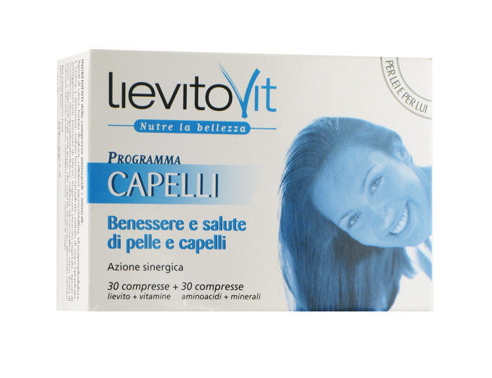 LievitoVit Programma Capelli Integratore Alimentare 60 Compresse