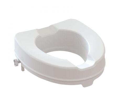 Image of Alza WC Anatomico Con Fissaggi Laterali Con Coperchio Altezza 6cm 904613647