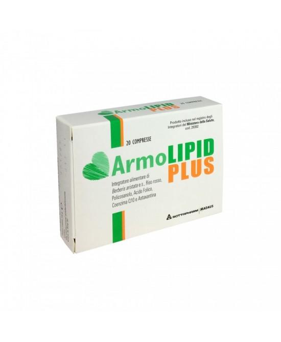 Image of Armolipid Plus 20 compresse - Confezione Europea