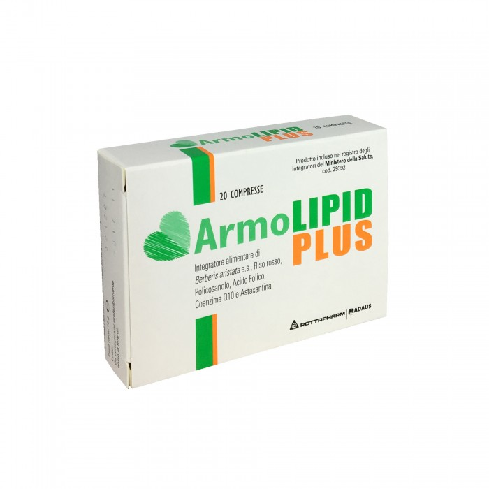Image of Rottapharm ArmoLipid Plus Integratore Alimentare 20 Compresse
