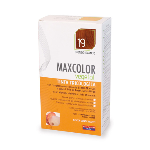 Max Color Vegetal Tintura Tricologica 19 140ml