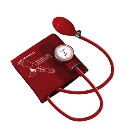 Image of Intermed Sfigmomanometro Ad Aneroide Con Manometro Asportabile Misurazione Pressione Arteriosa Colore Nero 904980556
