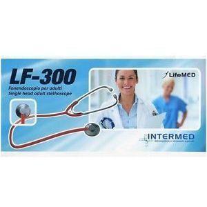 Image of Intermed Lf-300 Stetoscopio Per Adulti Testina Piatta Nera 904980758