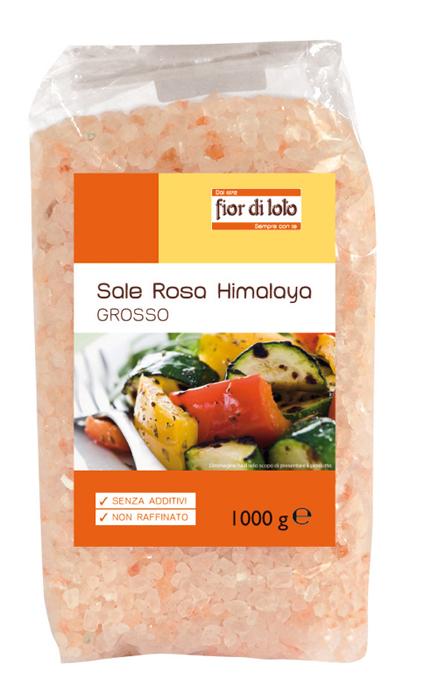 Fior Di Loto Sale Rosa Himalaya Grosso Biologico 1000g