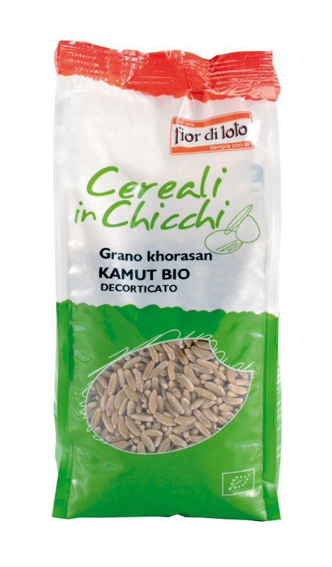 Fior Di Loto Cereali In Chicchi Grano Kamut Decorticato Biologico 500g