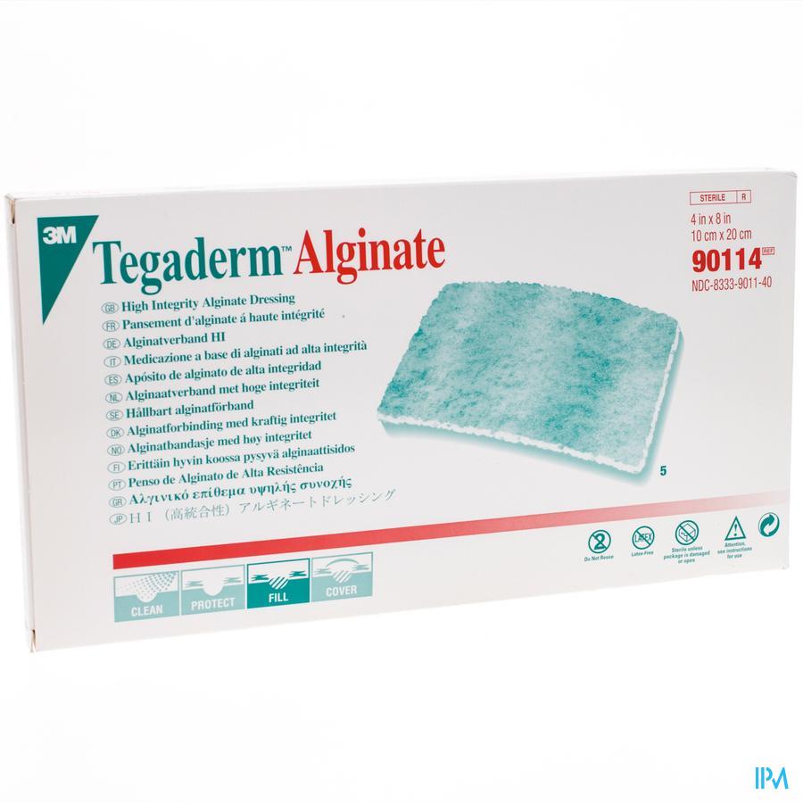 Image of 3M Tegaderm Alginate Garza Sterile 10x20cm 5 Pezzi 905862785