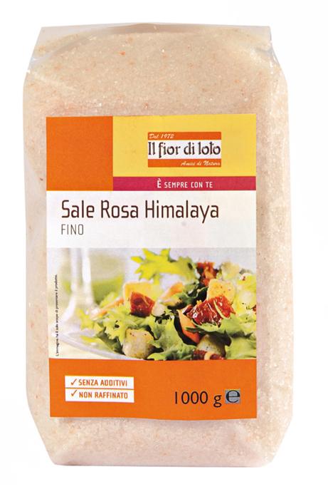 Il Fior Di Loto Sale Rosa Himalaya Fine Biologico 1000g