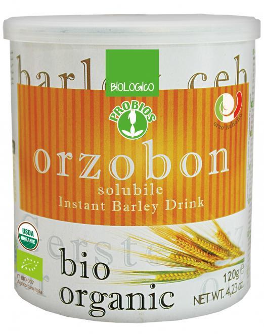 Probios Orzobon Bevanda Solubile Istantanea Di Orzo Biologica 120g