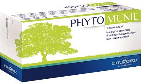 Phytomunil Integratore Alimentare 10 Flaconcini Da 10ml