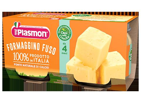 Plasmon Omogeneizzato Formaggino Fuso Classico 80gx2 Pezzi