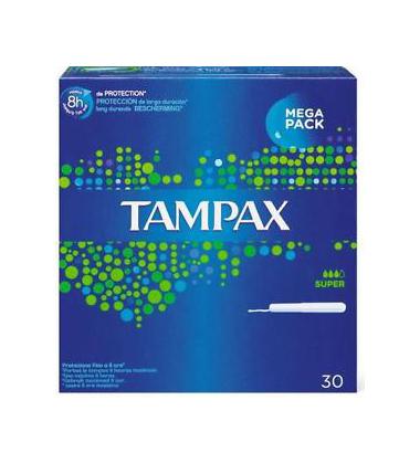 Tampax Blue Box Super Tamponi 30 Pezzi