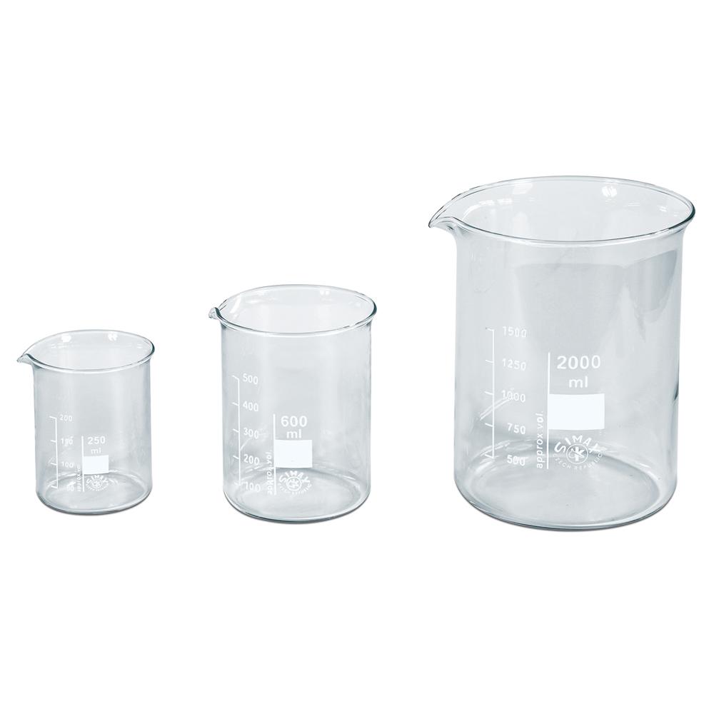 Safety Becher Bicchieri Laboratorio 400ml