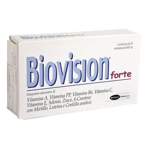 Biovision Forte Integratore Alimentare 30 Compresse