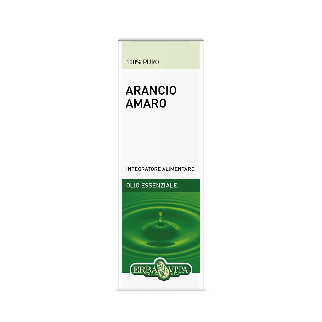 ErbaVita Oli Essenziali Arancio Amaro Integratore Alimentare 10ml