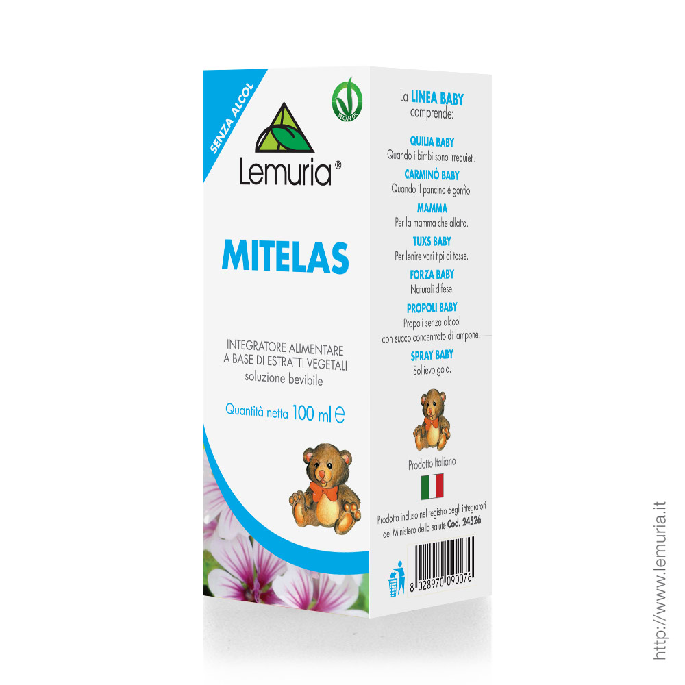 Mitelas Integratore Alimentare 100ml