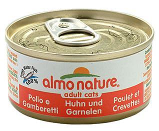Image of Almo Nature Alimento Per Gatto Gusto Pollo E Gamberetti 70g 906580891