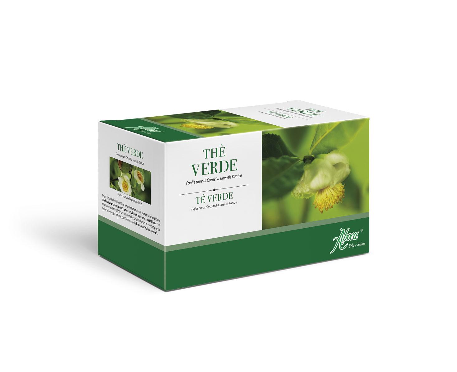 Image of Aboca Thè Verde 20 Bustine Da 2g 906607825