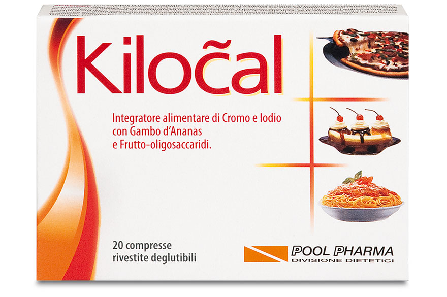 Pool Pharma Kilocal Compresse Integratore Alimentare 20 Compresse