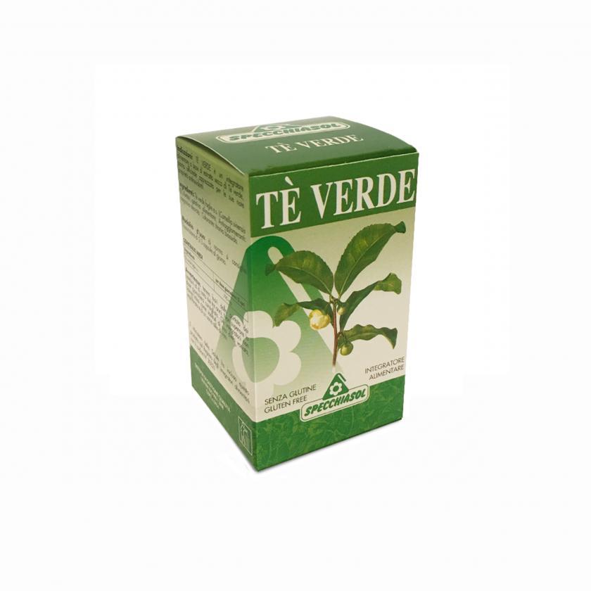 Specchiasol Tè Verde Integratore Alimentare Senza Glutine 60 Capsule
