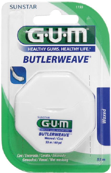 Gum Filo interdentale Cerato Butler Weave Floss 55m