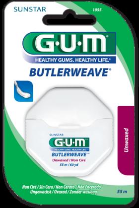 Gum Filo interdentale Non Cerato Butler Weave Floss 55m