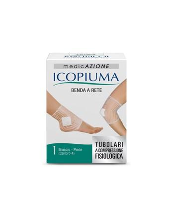 Icopiuma Benda A Rete A Compressione Fisiologica Braccio Piede Calibro 4