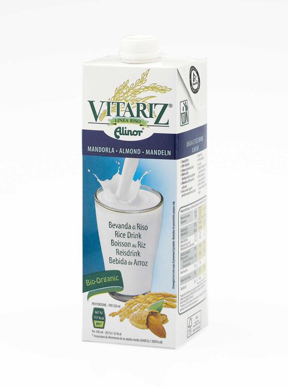 Vitariz Latte Di Riso Alle Mandorle Biologico 1l