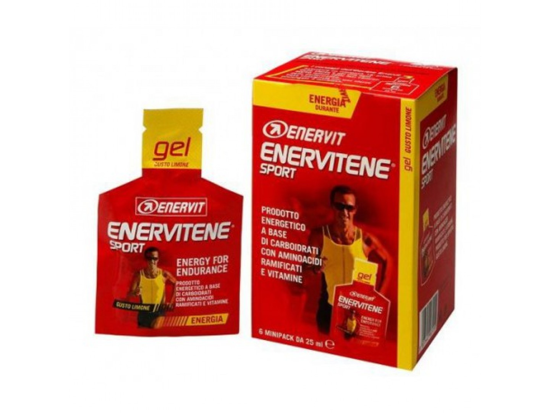 Image of Enervit Enervitene Gel Pack Gusto Limone 6 Pezzi 907223832