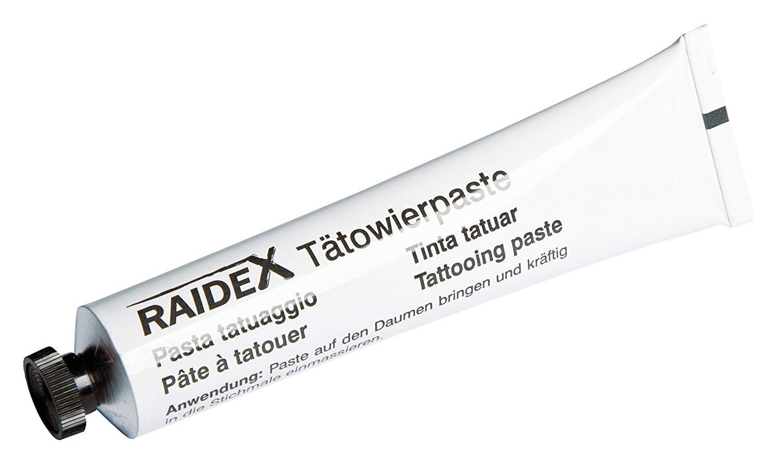 Image of Raidex Pasta Tatuaggio Colore Nero 60g 907637540