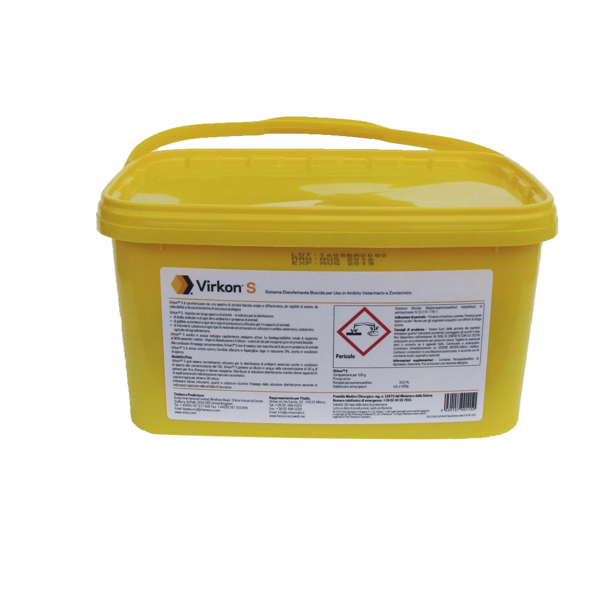 Image of VirkonS Disinfettante in Polvere 5kg 907697799