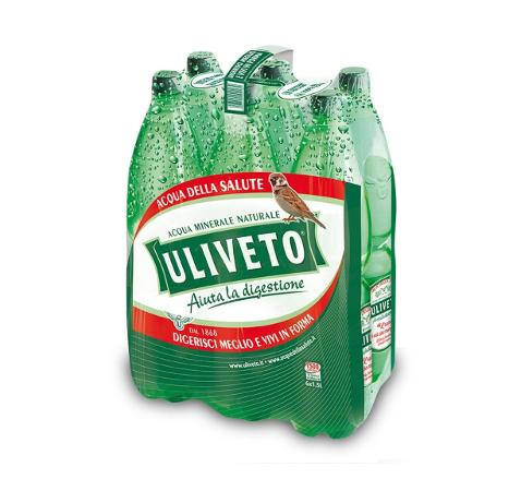 Image of Acqua Uliveto in Bottiglie PVC 6x1,5lt 907842090