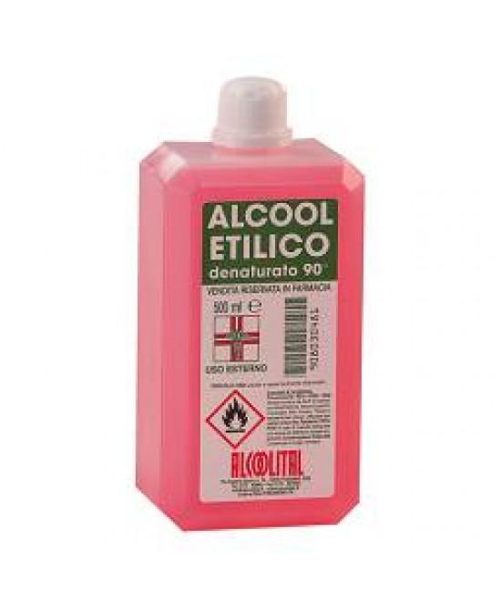 Image of Alcoolital Alcool Etilico Denaturato 90% 250ml 908030479