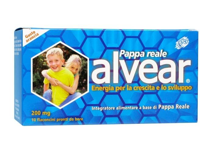 Alvear 200mg Pappa Reale Integratore Alimentare 10 Flaconcini