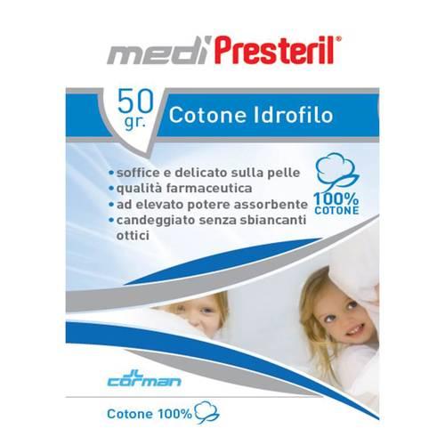 Presteril Cotone Idrofilo 100% Cotone 50g
