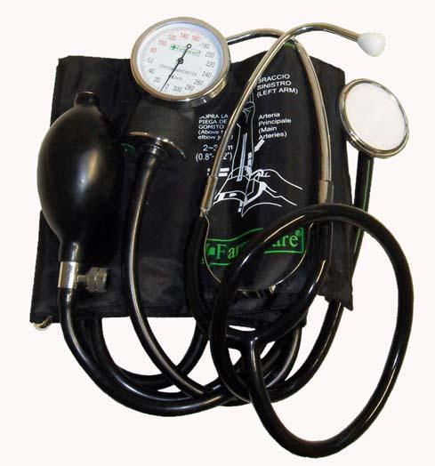 Farmacare Sfigmomanometro Aneroide Senza Fonendoscopio Incorporato