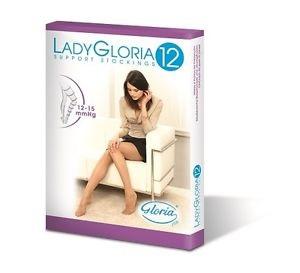 GloriaMed Lady Gloria 12 Colant Gestanti 70 DEN Colore Nero Taglia 5