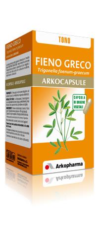 Arkopharma Fieno Greco Arkocapsule Integratore Alimentare 45 Capsule