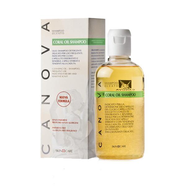 Canova Coral Oil Shampoo Delicato 250ml Costo