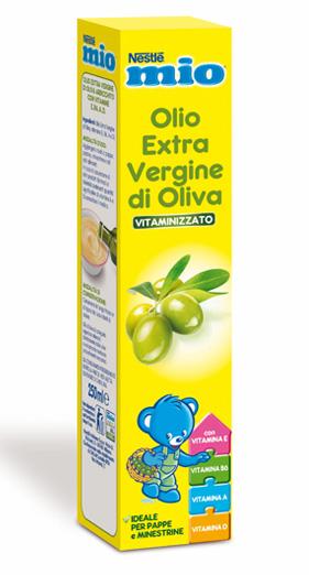 Nestlé Mio Olio Extra Vergine Di Oliva Vitaminizzato 250ml