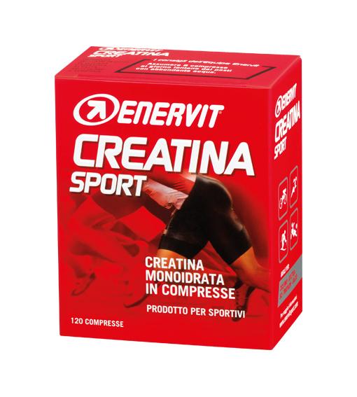 Image of Enervit Creatina Sport Integratore Alimentare 120 Compresse 909952602