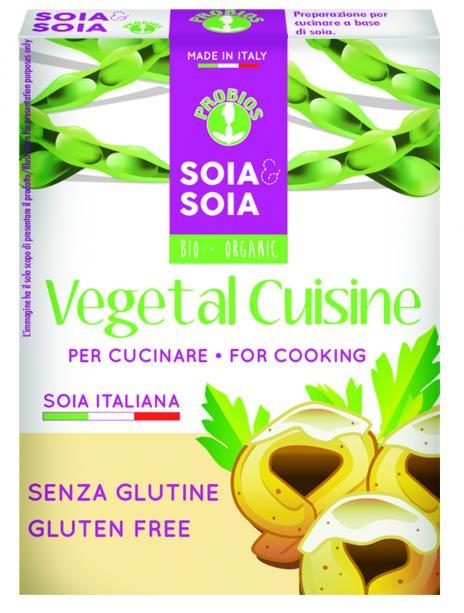 Soia&Soia Vegetal Cuisine Panna Di Soia Senza Glutine 200ml