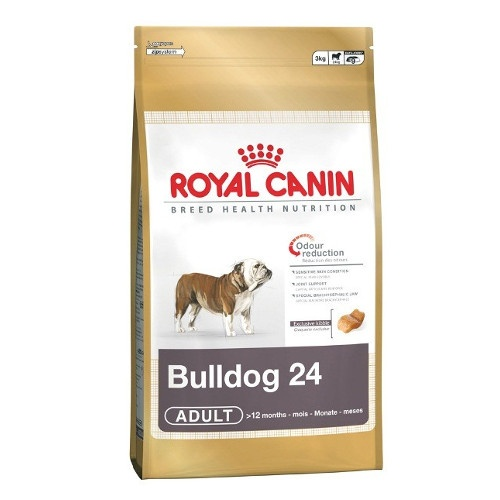 Image of Royal Canin Breed Health Nutrition Bulldog Adult 24 3kg